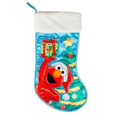 """Sesame Street Elmo 19"""" Applique Stocking"""