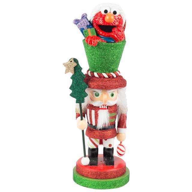 """Sesame Street Elmo Nutcracker 12"""""""