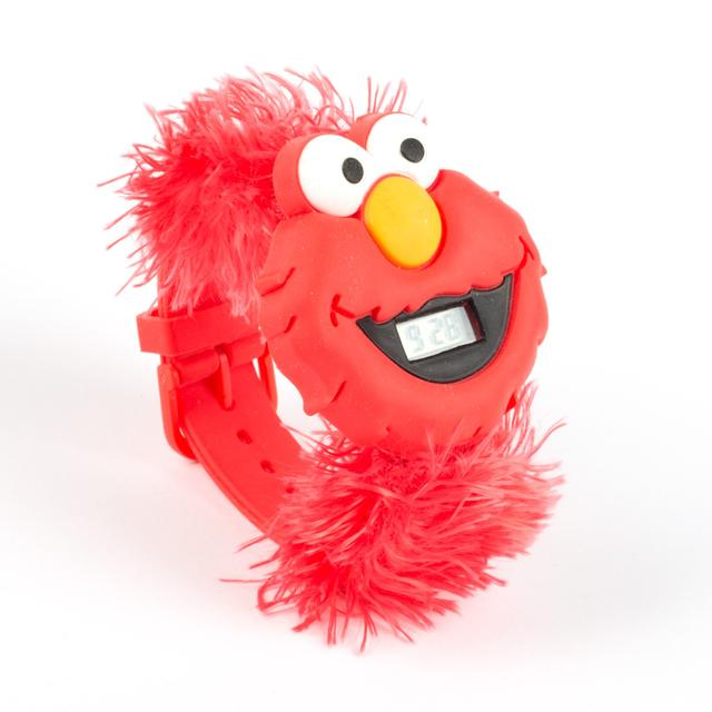 Sesame Street Elmo Big Face Furry Watch