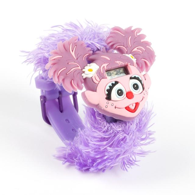 Sesame Street Abby Big Face Furry Watch