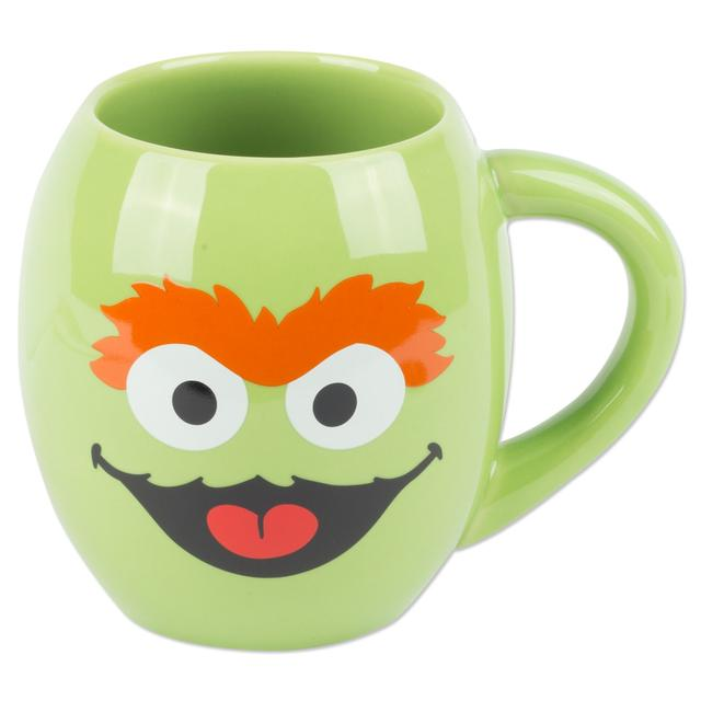 Sesame Street Oscar the Grouch 18 oz. Ceramic Mug