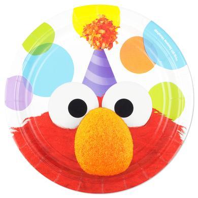 Sesame Street Elmo's Party Round Dessert Plate