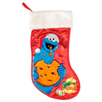 "Sesame Street Cookie Monster 19"" Applique Stocking"