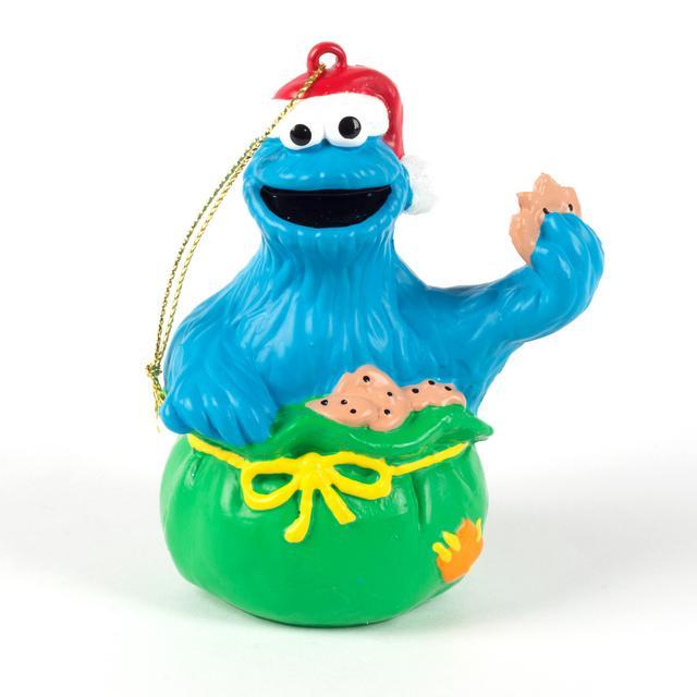 Sesame Street Cookie Monster Sack Ornament