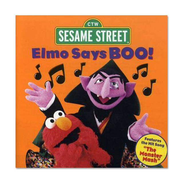 Sesame Street Elmo Says Boo CD