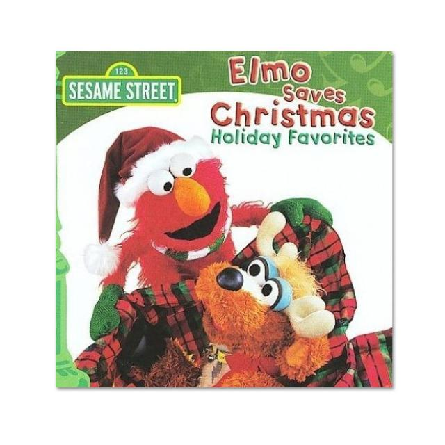 Sesame Street Elmo Saves Christmas CD