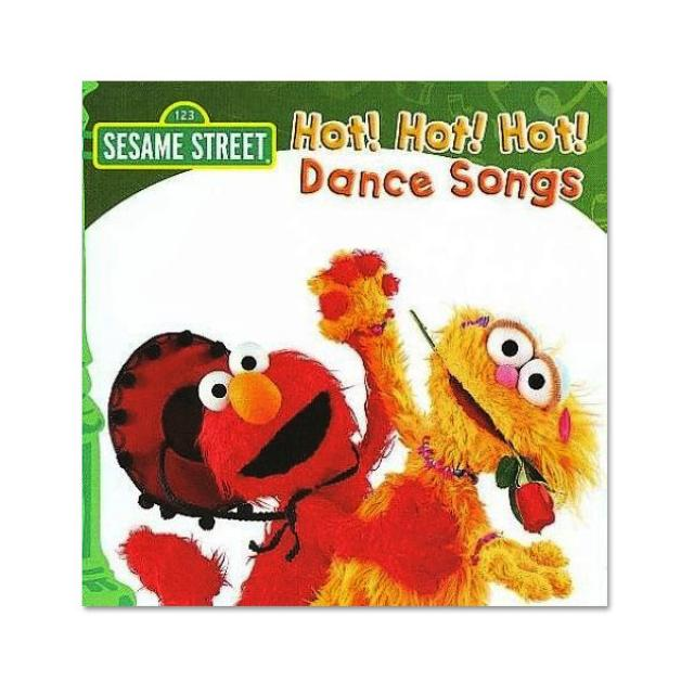 Sesame Street Hot Hot Hot Dance Songs CD