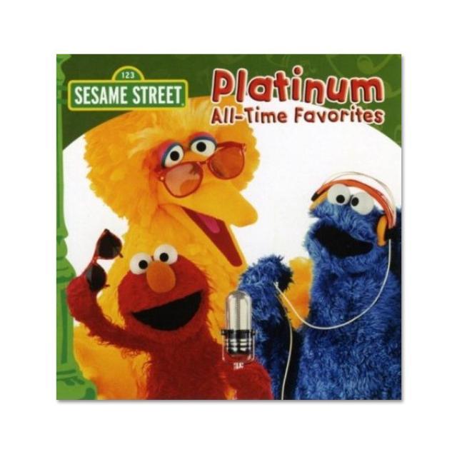 Sesame Street Platinum All Time Favorites CD