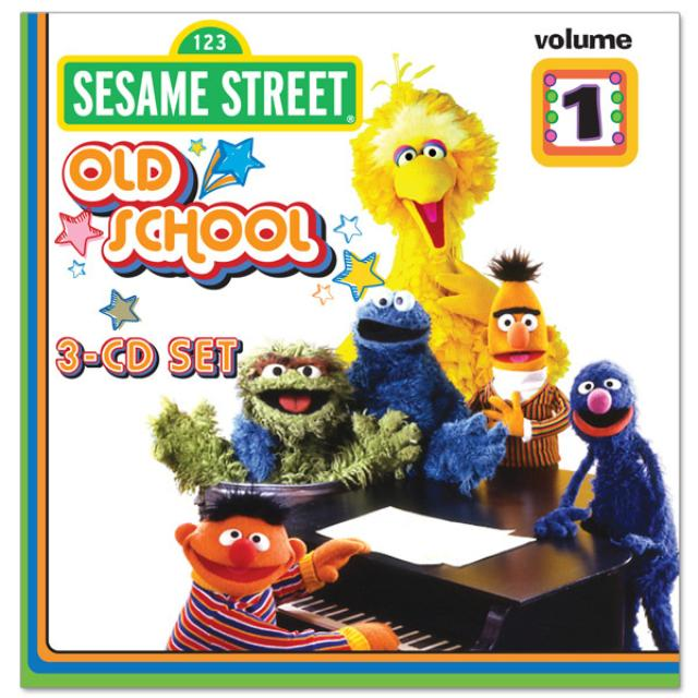 Sesame Street Old School Volume 1 CD