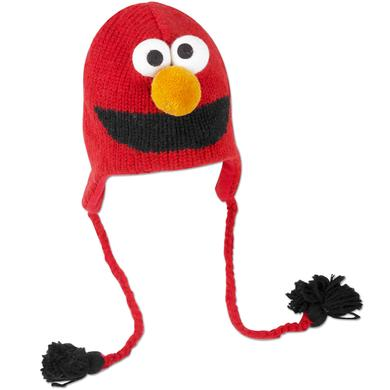 Sesame Street Elmo Adult Pilot Hat