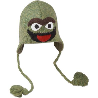 Sesame Street Oscar Adult Pilot Hat
