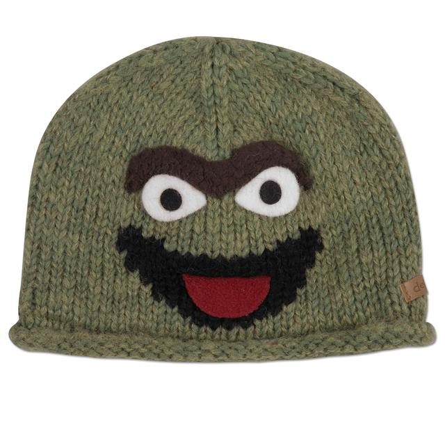 Sesame Street Oscar the Grouch Wool Toddler Beanie