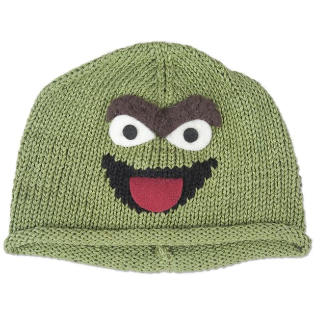 Sesame Street Oscar Cotton Toddler Beanie