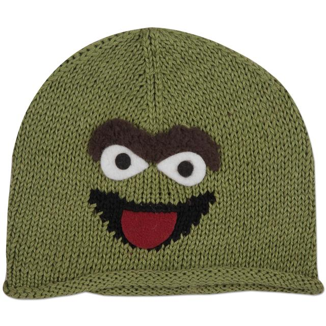 Sesame Street Oscar the Grouch Cotton Kids Beanie