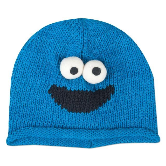 Sesame Street Cookie Monster Cotton Toddler Beanie