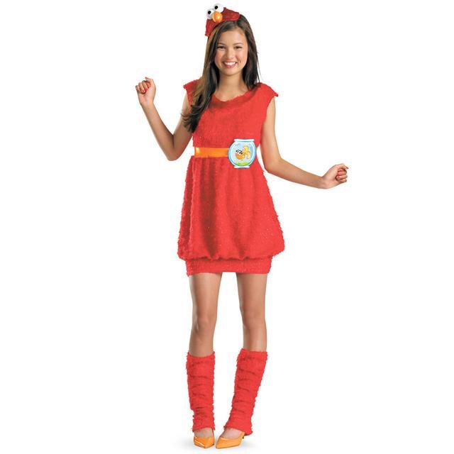 Sesame Street Elmo Youth Girl Costume
