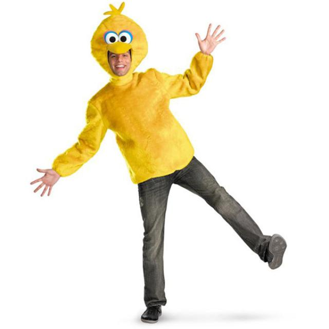 Sesame Street Big Bird Adult Plush Costume