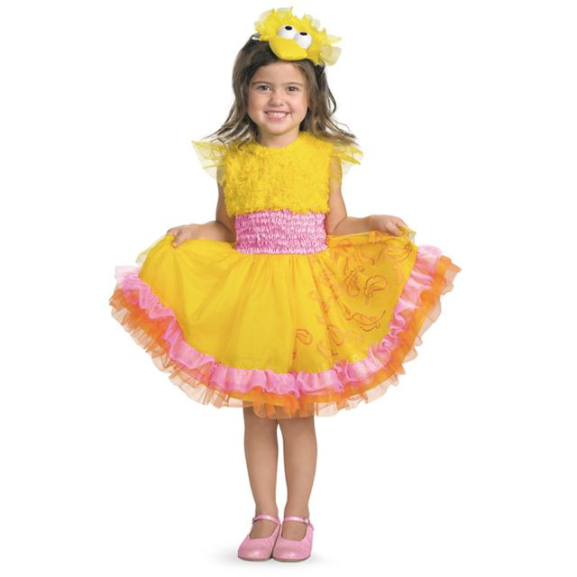 Sesame Street Frilly Big Bird Costume