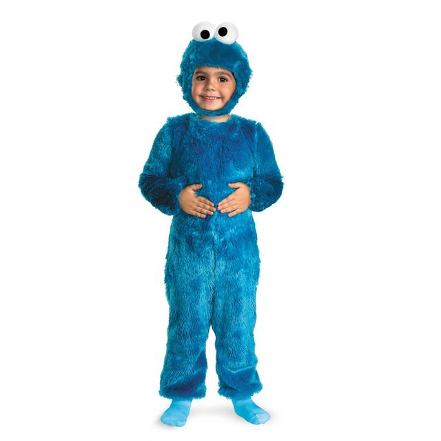 Sesame Street Cookie Monster Furry Costume