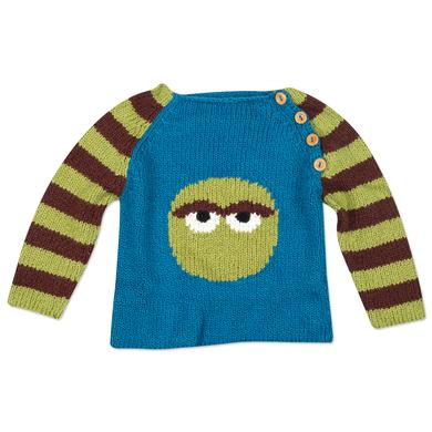 Sesame Street Oscar the Grouch Circle Pullover