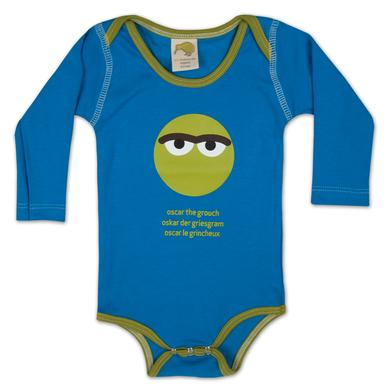 Sesame Street Oscar Around the World Onesie