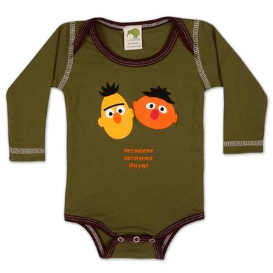 Sesame Street Bert Ernie Around the World Onesie
