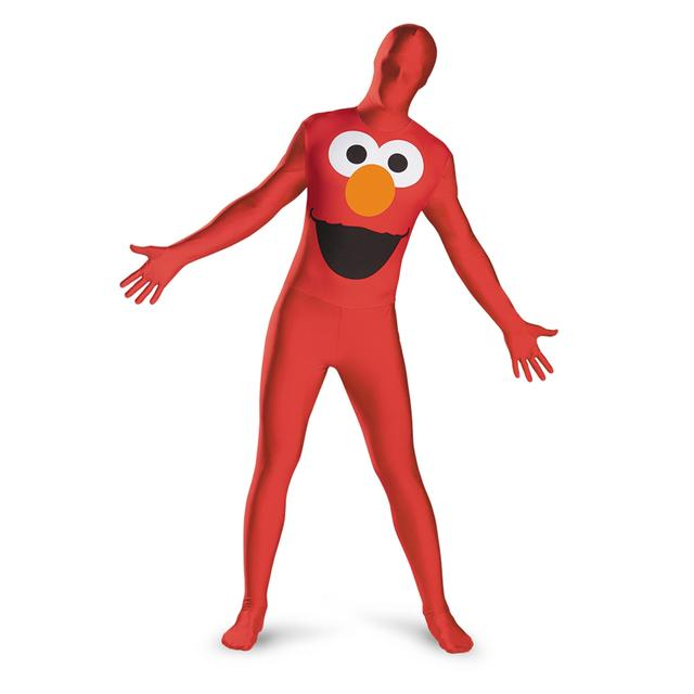 Sesame Street - Elmo Adult Bodysuit Costume