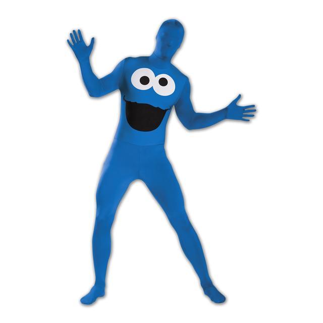 Sesame Street - Cookie Monster Adult Bodysuit Costume