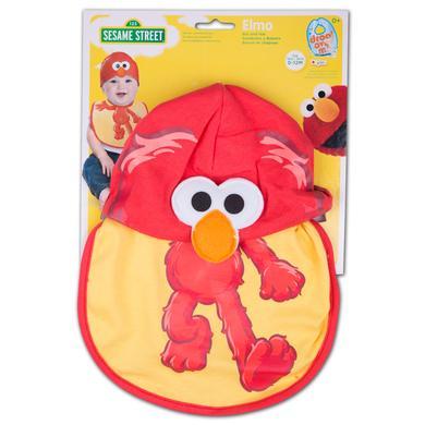 Sesame Street - Elmo Bib & Hat