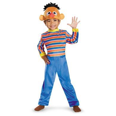 Sesame Street Ernie Deluxe Toddler Costume