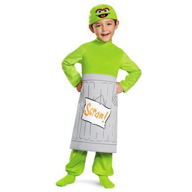 Sesame Street Oscar Deluxe Toddler Costume