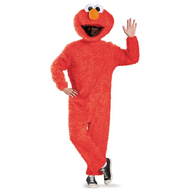 Sesame Street Elmo Full Plush Prestige Adult Costume