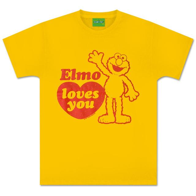 Sesame Street Elmo Loves You T-Shirt