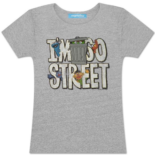 Sesame Street I'm So Street Juniors T-Shirt