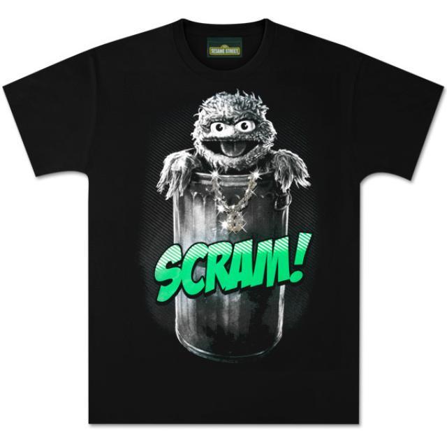 Sesame Street Oscar Scram T-Shirt