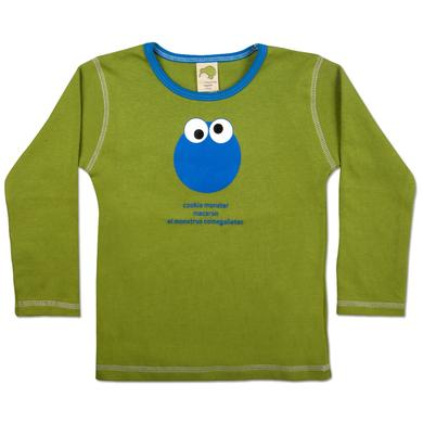 Sesame Street Cookie Monster International Face Toddler T-Shirt