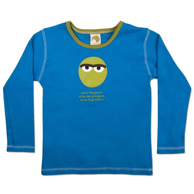 Sesame Street Oscar International Face Toddler T-Shirt
