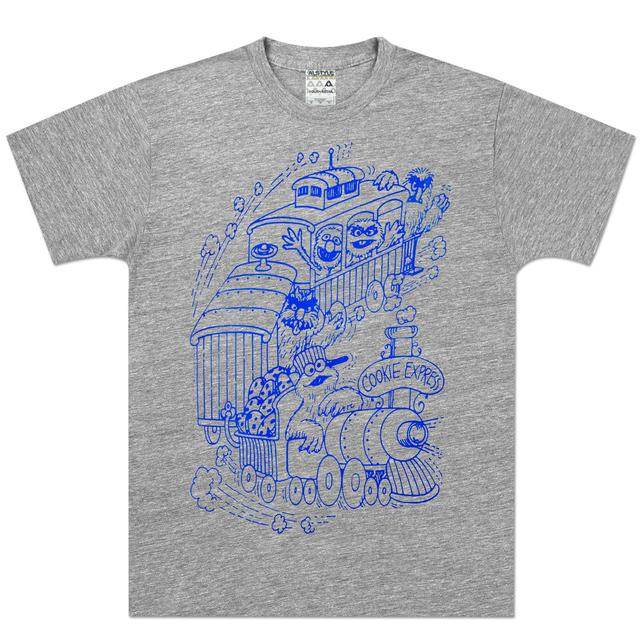 Sesame Street Cookie Monster Express T-Shirt