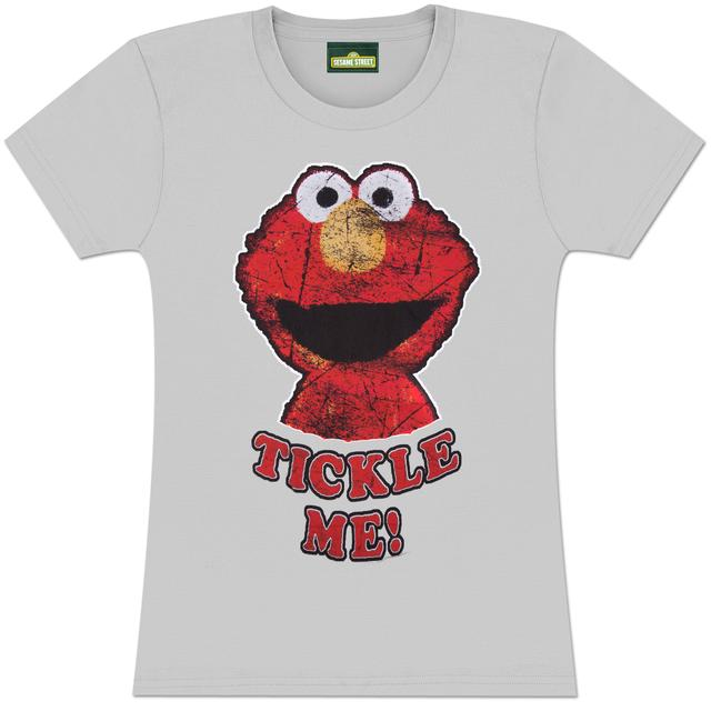 Sesame Street Elmo Tickle Me Ladies Tee