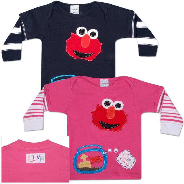 Sesame Street MORFS Elmo Loves You Infant Sock T-shirt