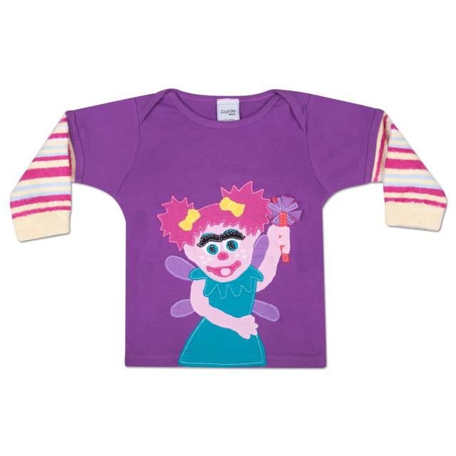 Sesame Street MORFS Abby Cadabby Infant Sock T-shirt