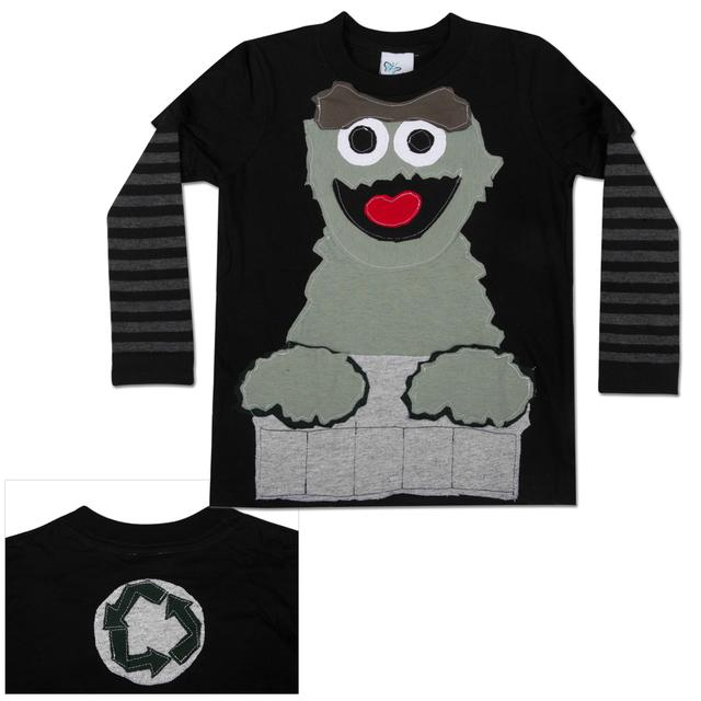 Sesame Street MORFS Happy Oscar Toddler Sock T-shirt