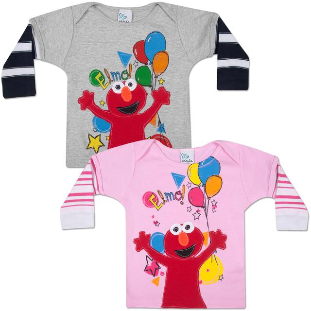 Sesame Street MORFS Elmo Party Time Infant Sock T-shirt