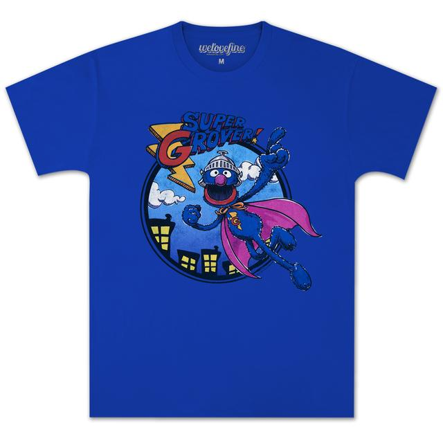 Sesame Street Super Grover Fly T-shirt