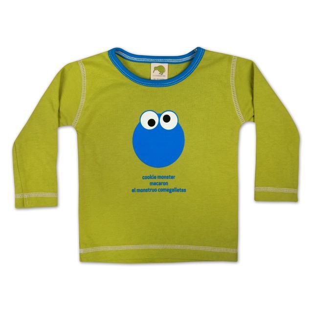 Sesame Street Cookie Monster Around the World T-Shirt