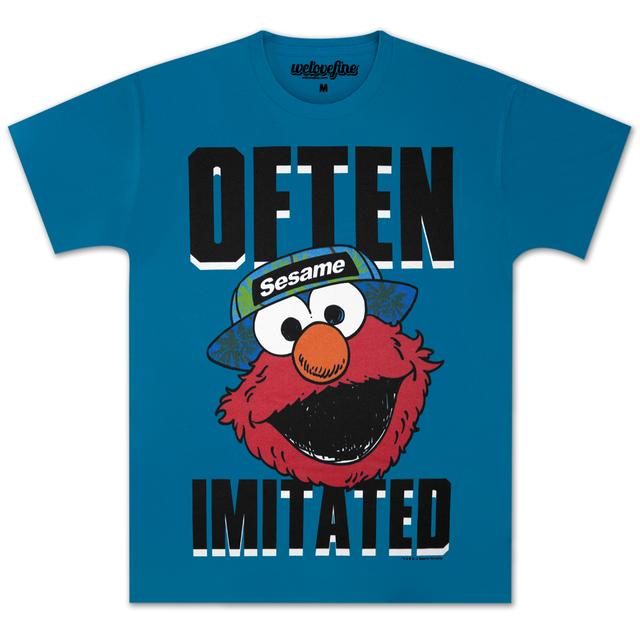 Sesame Street Elmo Often Imitated T-shirt