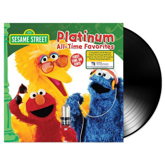 Sesame Street: Platinum All Time Favorites Yellow Vinyl LP