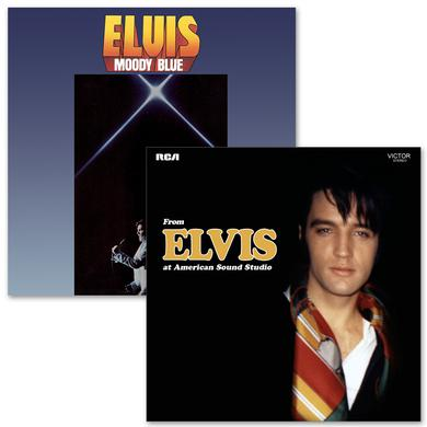 Elvis Moody Blue and From Elvis At American Sound FTD CD Bundle