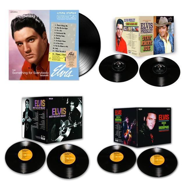 Elvis 2014 Bundle of 4 FTD LP Releases (Vinyl)