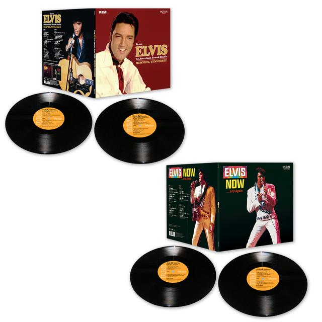 Elvis Presley 2015 FTD LP Bundle  (Vinyl)